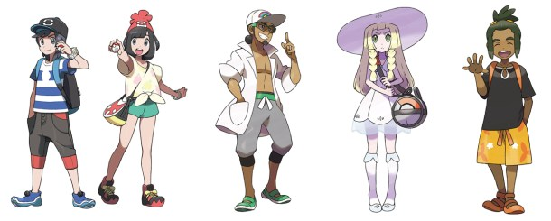 Pokémon Sun & Moon | Characters