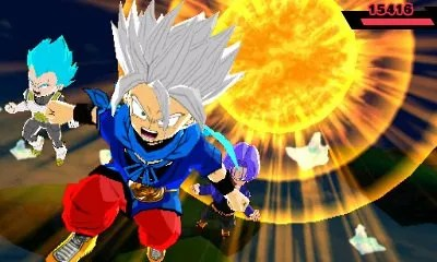 Dragon Ball Fusions | Special Attack
