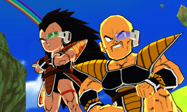 Dragon Ball Fusions | Nappa and Raditz