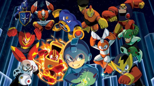 Mega Man Robot Master Pins