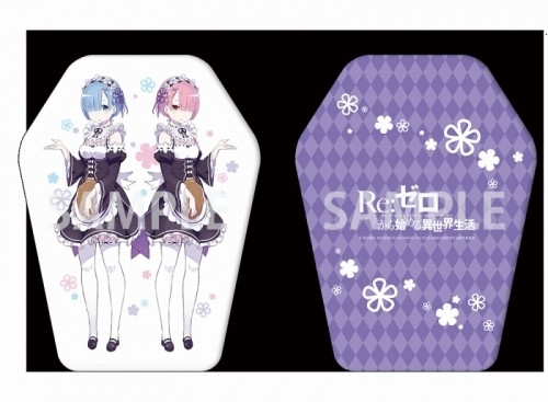 Re:ZERO | Rem and Ram Die Cut Cushion