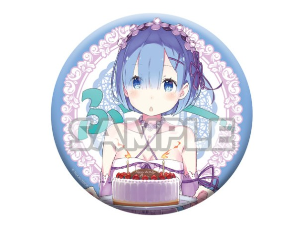 Re:ZERO | Rem Big Tin Badge