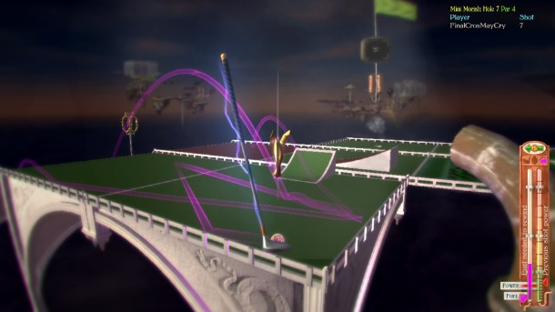 Vertiginous Golf | Pathfinding