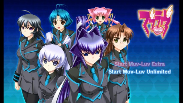 Muv-Luv Unlimited | Story Select