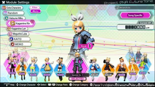 Project Diva Future Tone | Costumes