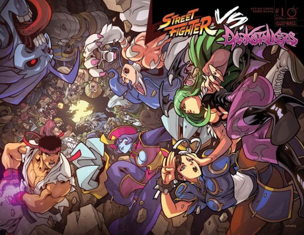 Street Fighter VS Darkstalkers