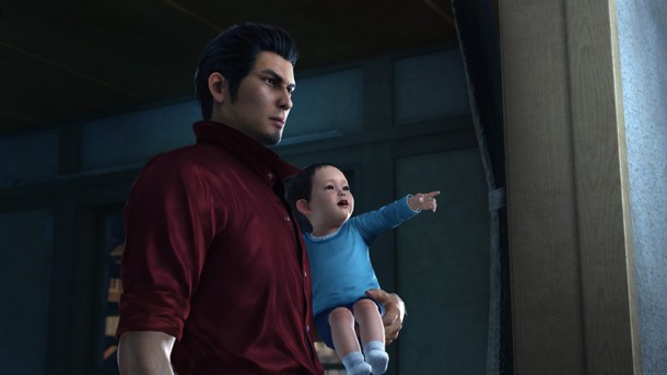 Yakuza 6 | Kiryu on his latest adventure with Haruto
