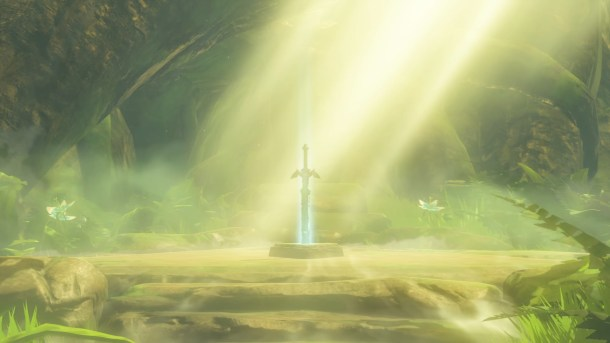 Breath of the Wild Master Sword
