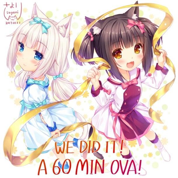 Nekopara OVA kickstarter