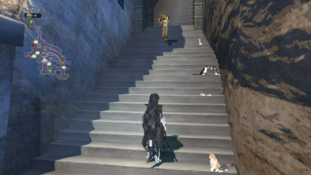 Tales of Berseria PC | Stairs