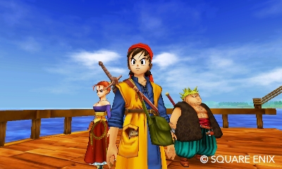 Dragon Quest VIII | 3DS Old Characters