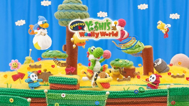 Nintendo Download | Poochy and Yoshi's Woolly World