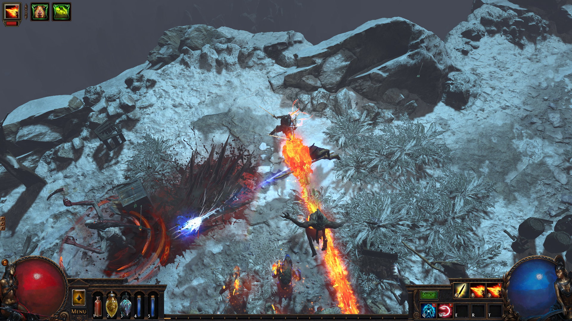 exle of falling new path of exile the fall of oriath trailer