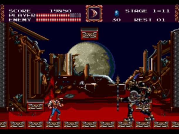 Castlevania bloodlines | fight