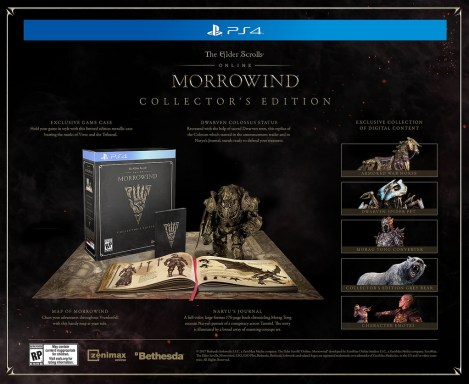 Elder Scrolls Online: Morrowind | Collector's Edition