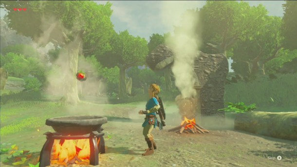 Breath of the Wild | Cooking