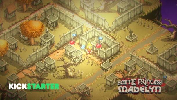 Battle Princess Madelyn   Level 1 Map