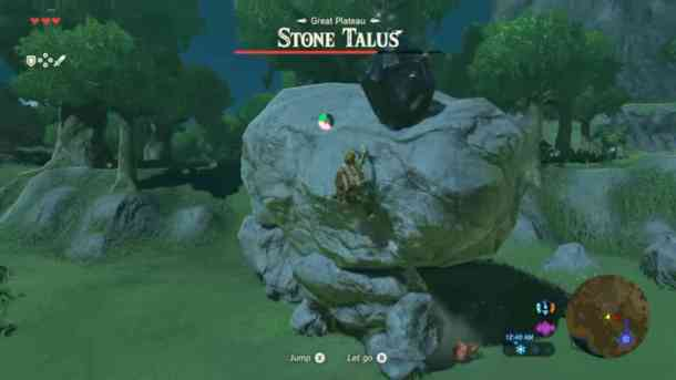 Breath of the Wild | Stone Talus