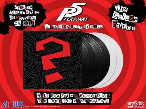 Persona 5 Vinyl