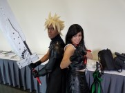 Anime Boston 2017 | Cloud and Tifa