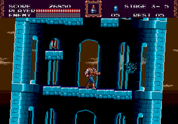 Castlevania Bloodlines | monument