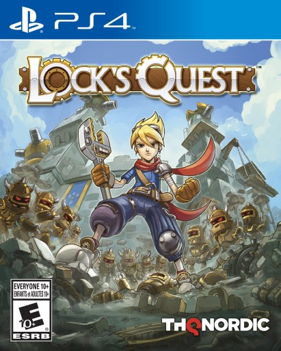 Lock's Quest | PlayStation 4 Cover