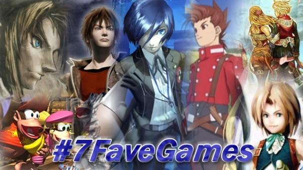 7 fave games | Header