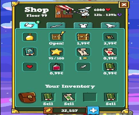 Spellspire | Item shop