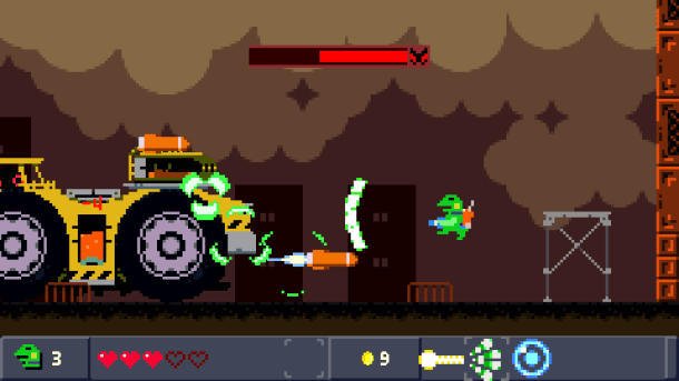 Kero Blaster | Boss fight