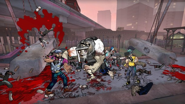 Bloody Zombies | Downtown fighting