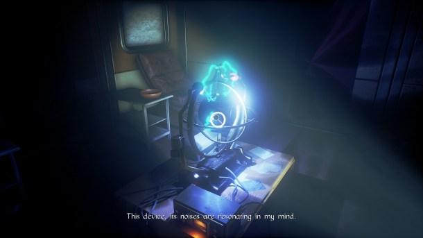 Conarium | The mysterious device.