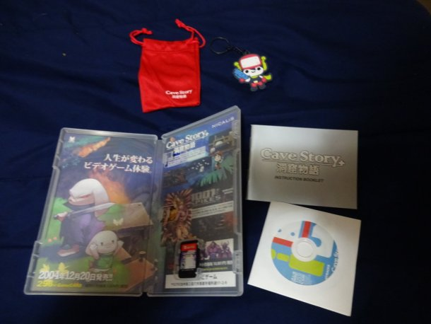 Cave Story Plus   Preorder Swag