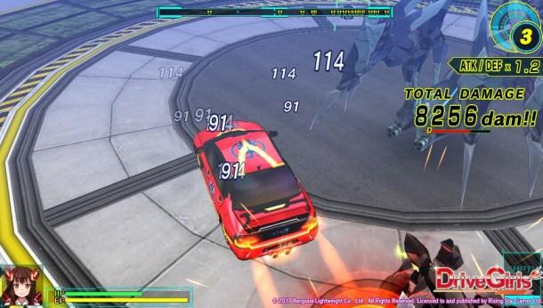 Drive Girls | Car Combat
