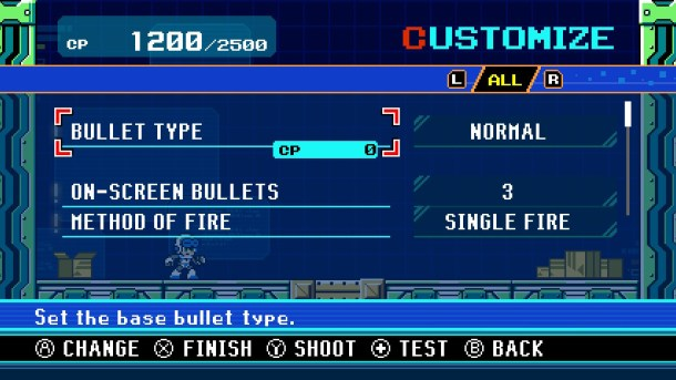 Mighty Gunvolt Burst | Customization