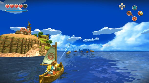 Oceanhorn | Sailing