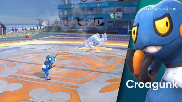 Pokkén Tournament DX | Croagunk