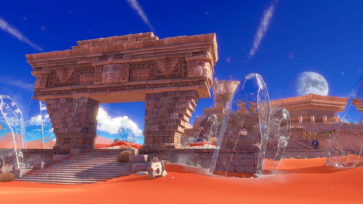 Super Mario Odyssey | Sand Kingdom Entrance
