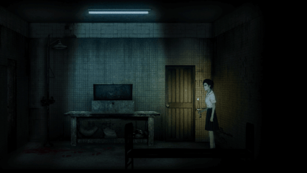 Detention | Ray explores her school.