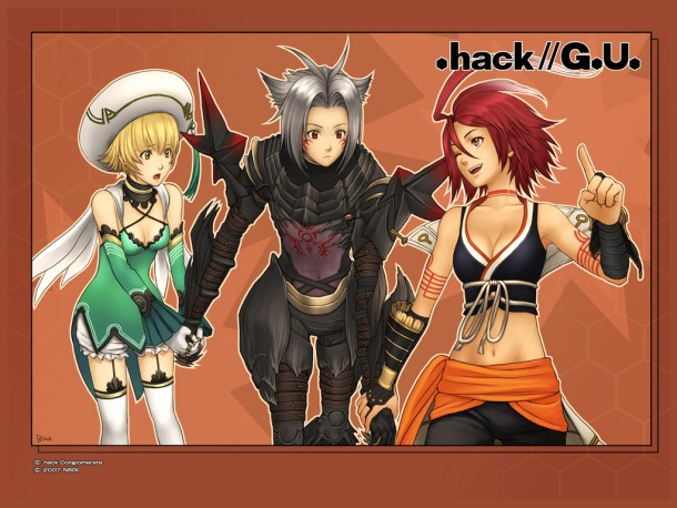 .hack//G.U. | Haseo, Alkaid, and Atoli