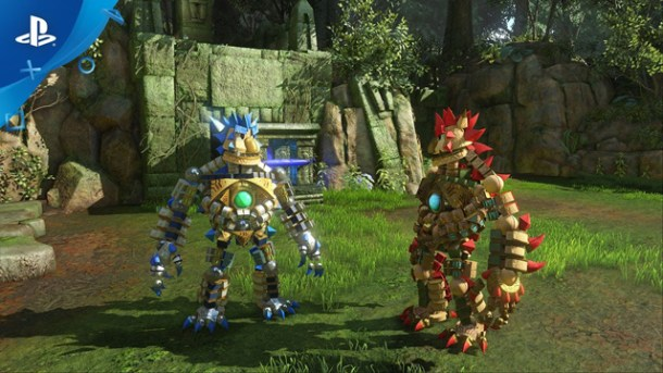 Knack 2 comes to PS4 with co-op and more puzzles