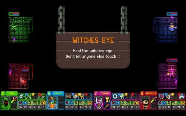 Dungeon League | Witches Eye Mode