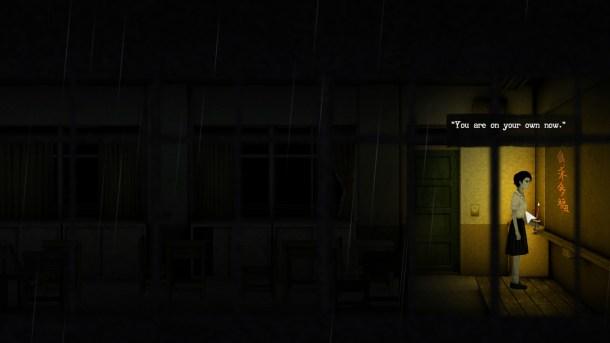 Detention | Ominous message