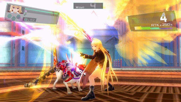 Valkyrie Drive: Bhikkhuni | Cool flashy attakcs