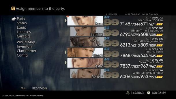 Final Fantasy XII The Zodiac Age | Job Combinations