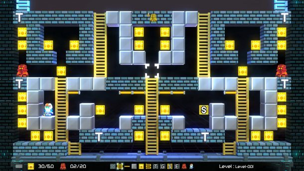 Lode Runner: Legacy | Level editor.
