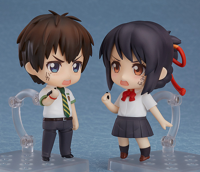 Your Name Protagonists Taki And Mitsuha Get Nendoroids