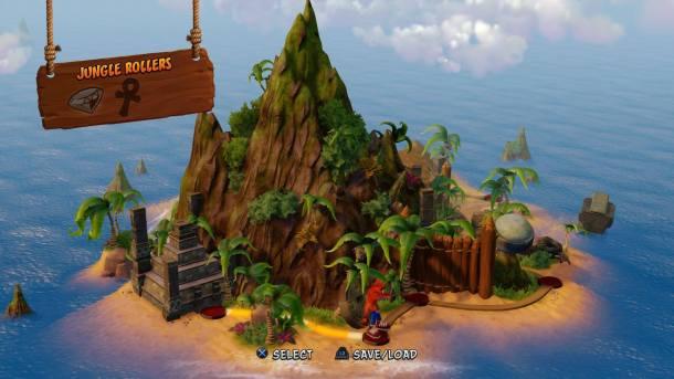 Crash Bandicoot N Sane Trilogy | Overworld