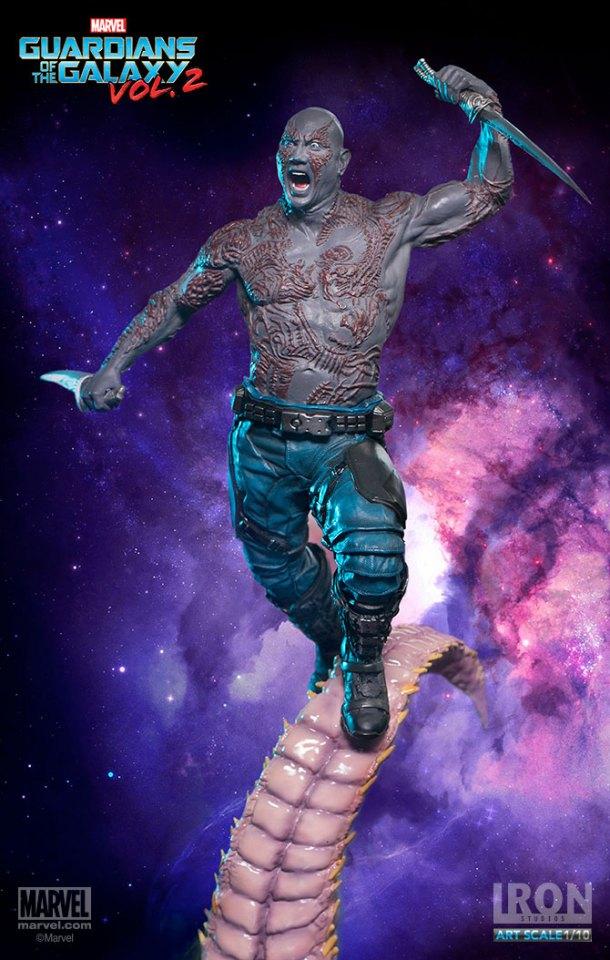 Drax Statue | Iron Studios