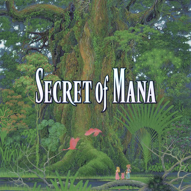 Secret of Mana original key art