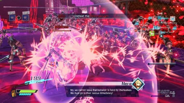 Fate/Extella   Nero vs. Medusa